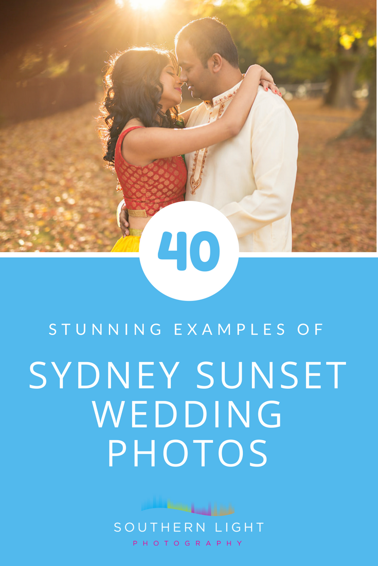 40 Stunning Examples of Sydney Sunset Wedding Photos