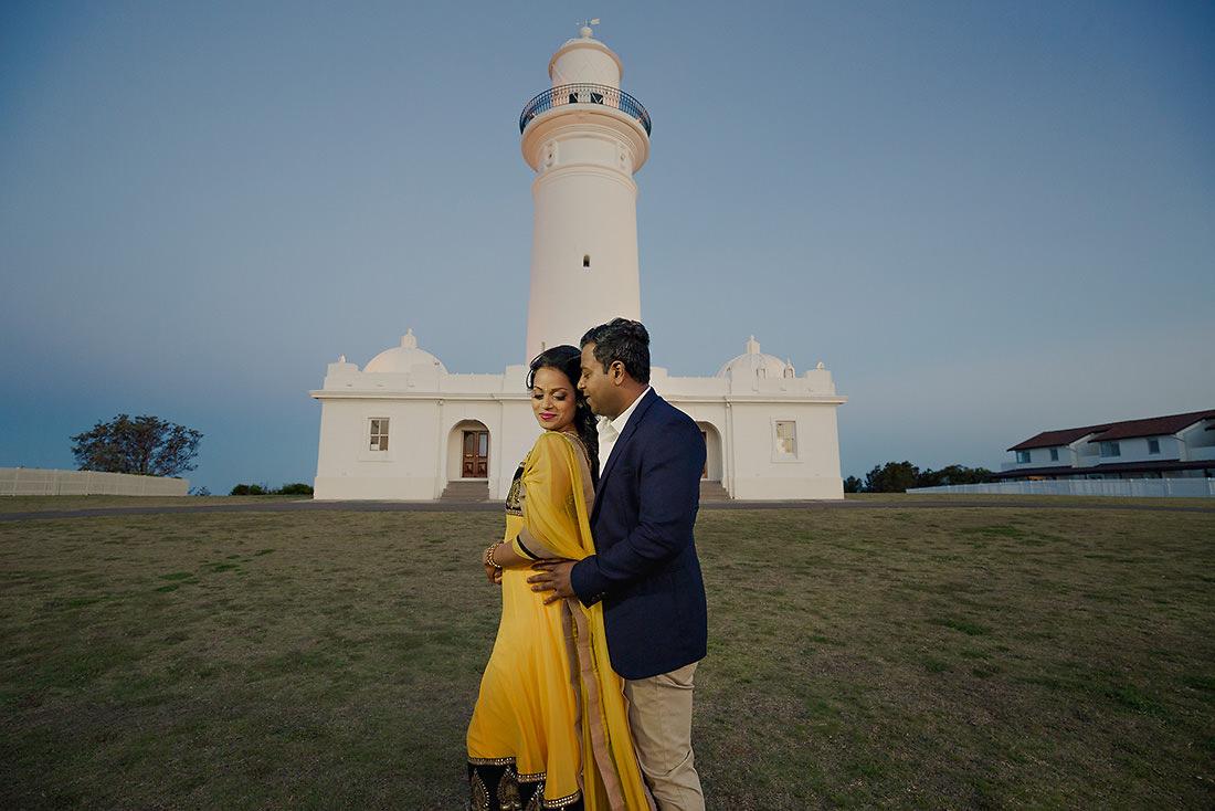 Rose Bay Sydney wedding photo at sunset