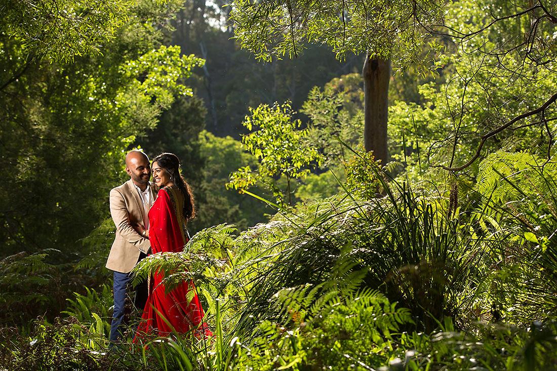 Sydney wedding photo at sunset