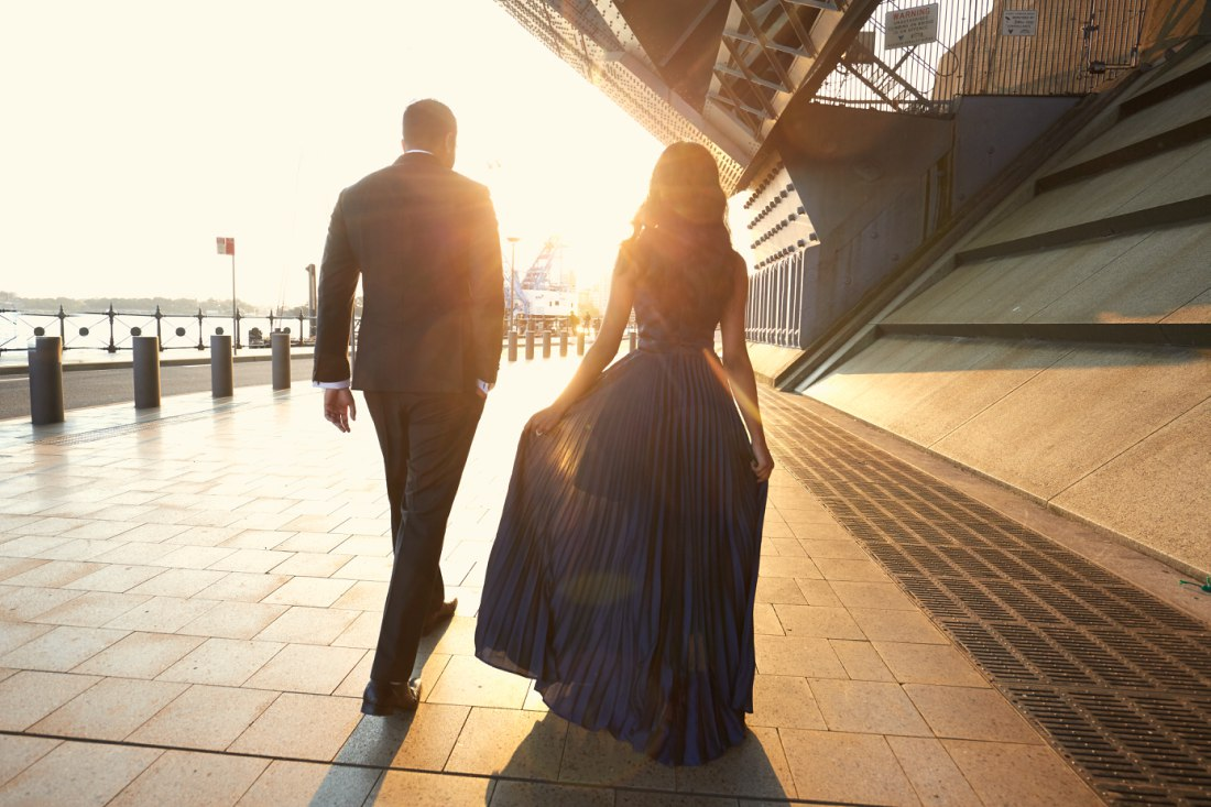 Sydney Engagement Photo