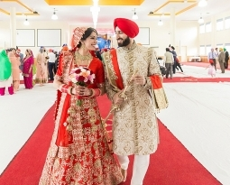 Indian Sikh Wedding Photography – Parklea Gurudwara – Preet and Hemant