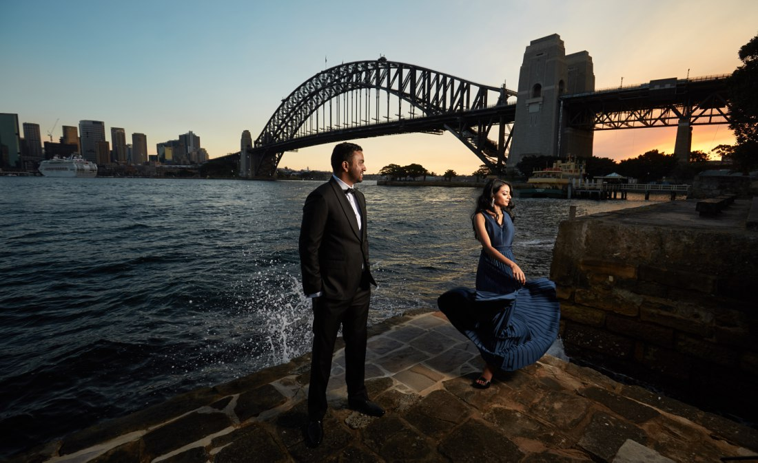 Sydney Engagement Photo