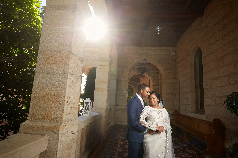 Curzon Hall Wedding Photo