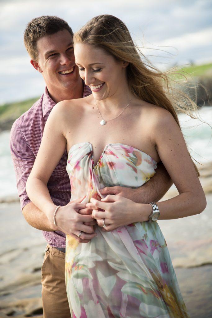 Australian wedding couple