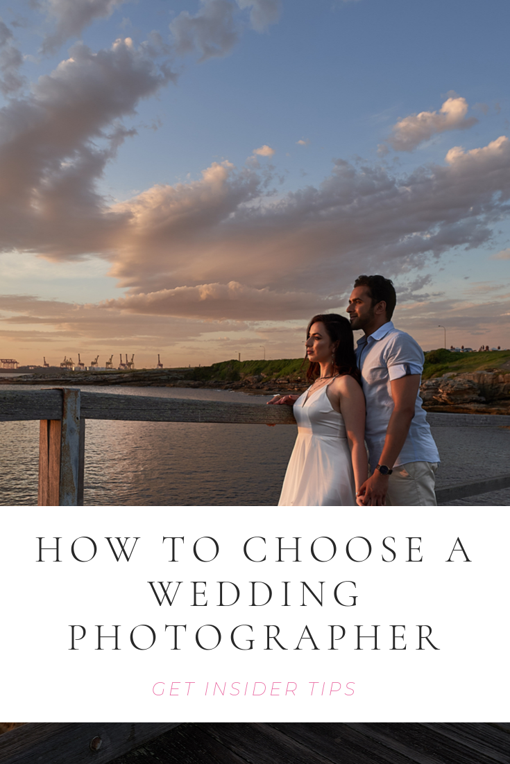 How to choose a wedding photographer